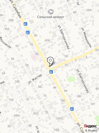 На Райымбек на карте