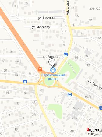 Аяла на карте