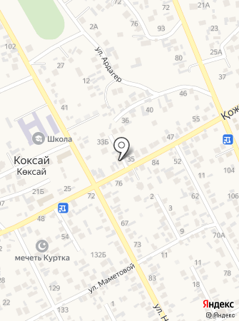 Kerbez на карте