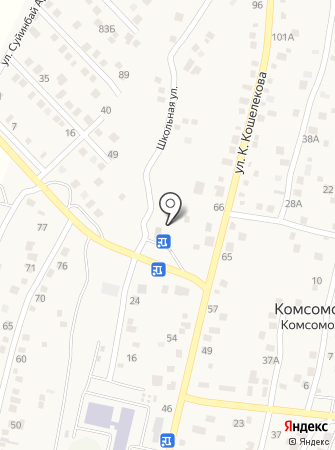 Сулейменов на карте