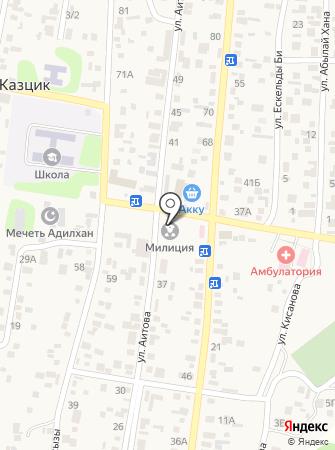 Кисановская сельская библиотека на карте