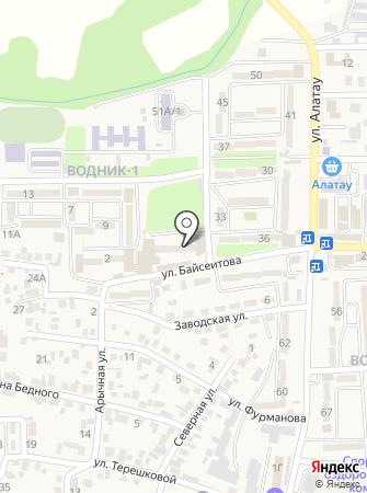 Цветочный магазин на ул. Водник 1 на карте
