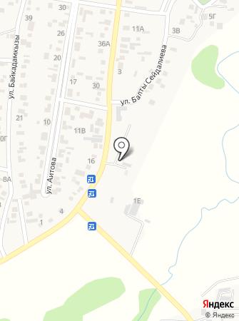 КазЦик на карте