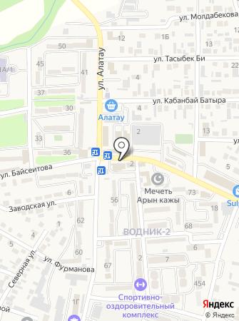 Халал, магазин мясной продукции Одал на карте