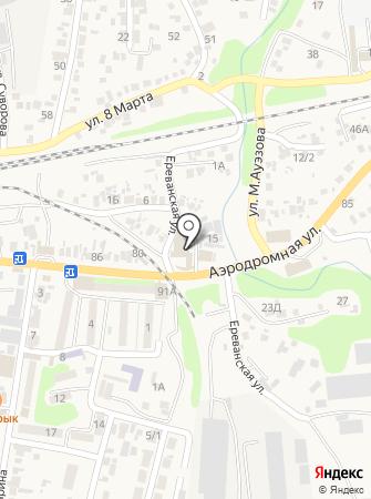 Astana на карте