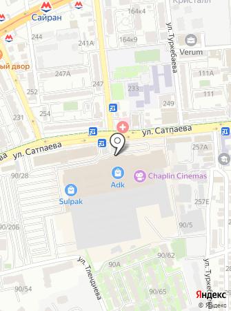 Банкомат, ForteBank на карте