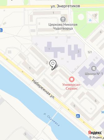 Нижневартовский центр занятости населения на карте