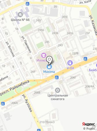 Банкомат, Цеснабанк на карте