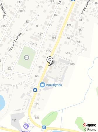 Пункт замены масла на карте