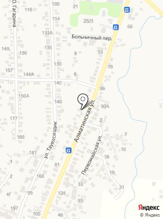 Заришан на карте