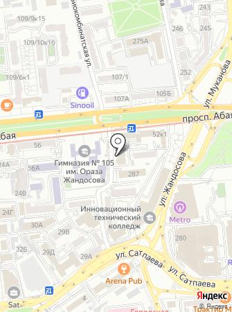 КАЗКОММЕРЦ-LIFE на карте
