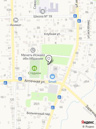 На Аптечной на карте