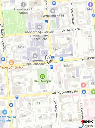 MAZZA на карте