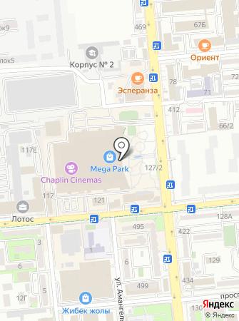 SEREBROFF на карте