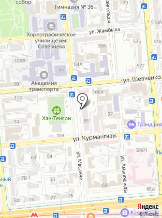 EGOIST на карте