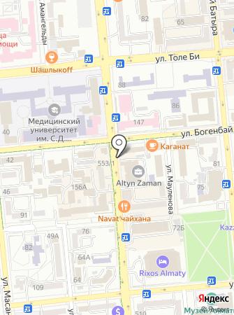 A Boutique на карте