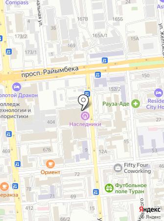 NASLEDNIKI на карте