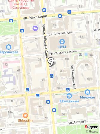 Банкомат, Банк ВТБ (Казахстан), ДО АО на карте