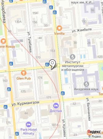 Tisert на карте