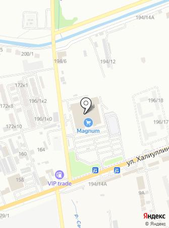 АСТАЛ на карте