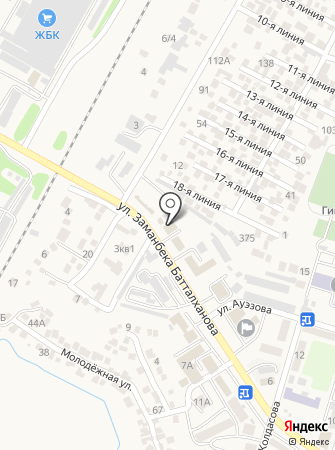Прокуратура Илийского района на карте