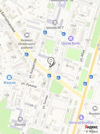 Гулдер на карте