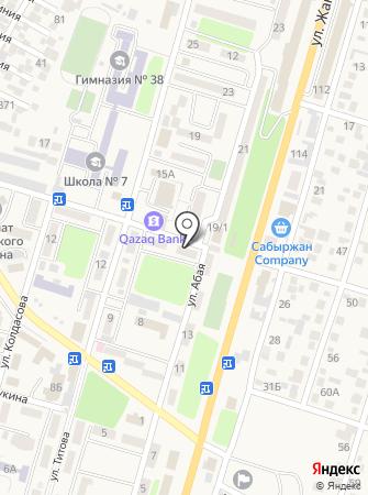 Ансар на карте