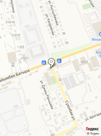 Жайлау на карте