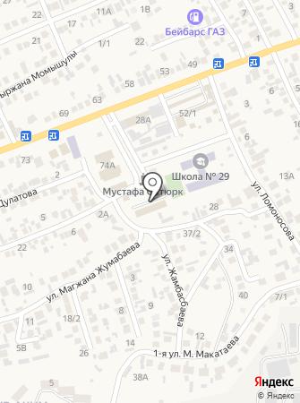 Алматинский экономическо-правовой и педагогический колледж на карте