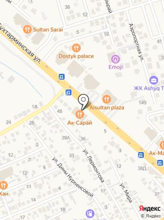 Ак-Сарай на карте