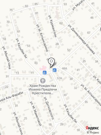 Гульдала, продовольственный магазин на карте