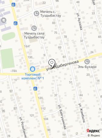 Айгуль на карте