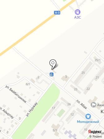 Қасым Қайсенов на карте