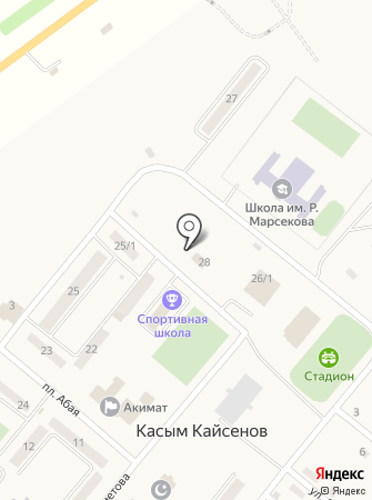 Прокуратура Уланского района на карте