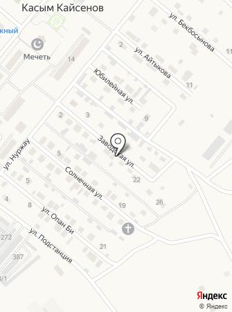 Уланское районное управление казначейства на карте
