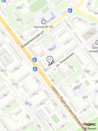 Сеть платежных терминалов, Kaspi bank на карте