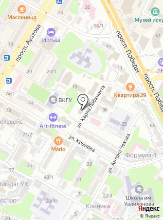 Тексти-Лайн Сервис, ТОО на карте