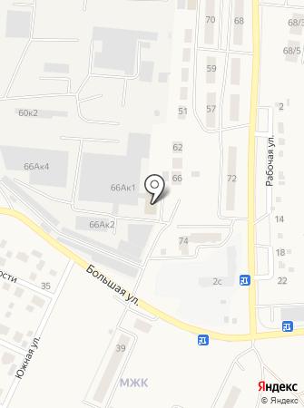 Отдел судебных приставов по г. Обь на карте