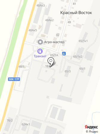 Кирпичный Двор на карте