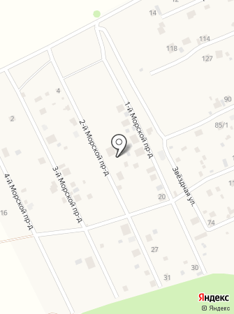 Обская Ривьера на карте