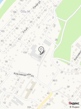 Савор на карте