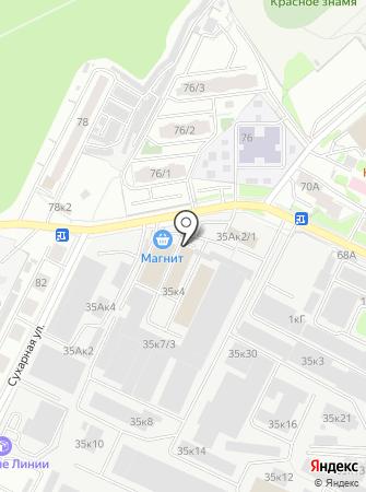 Урало-Сибирская буровая компания на карте