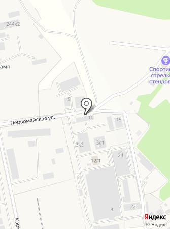 Клото Трейд на карте