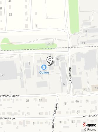 СДК на карте