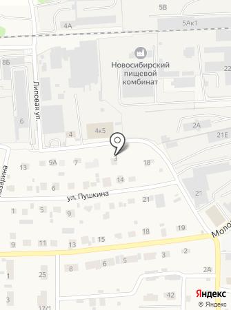 Замок на карте