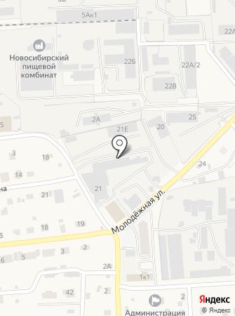 Сибтурн на карте