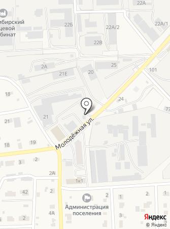 Элитный на карте