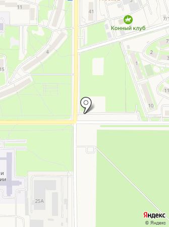 Центр автотоваров на карте