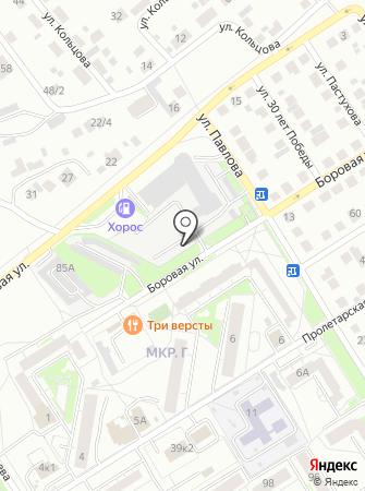 Комплекс Павловский на карте