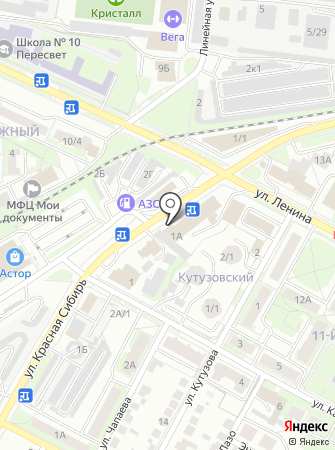 КАТОД на карте